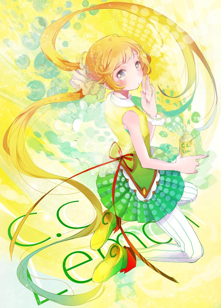Картинки девочка лимончик