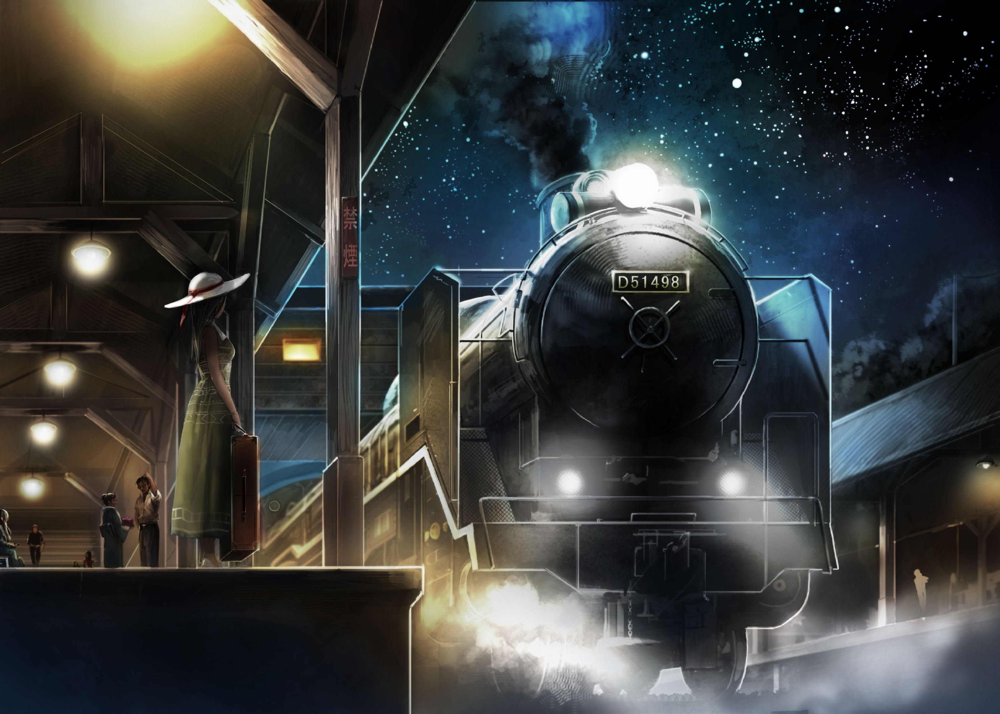 картинки поезд в космос