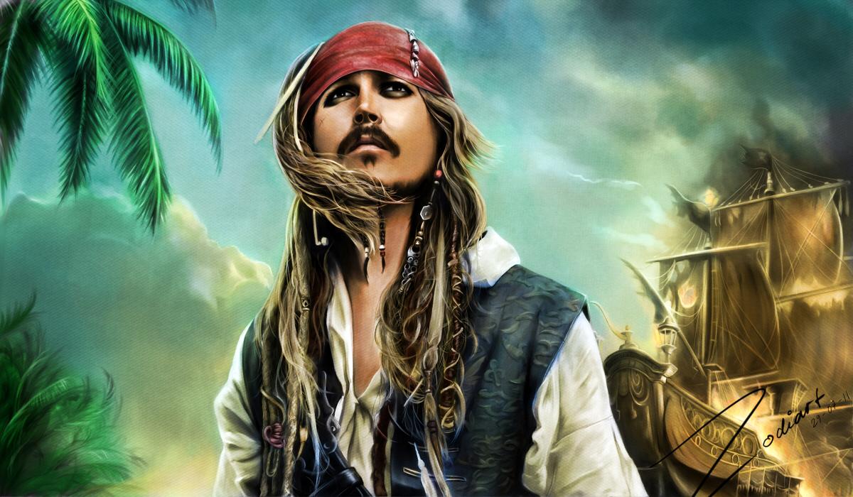 Сделать, открытка пираты карипскава моря
